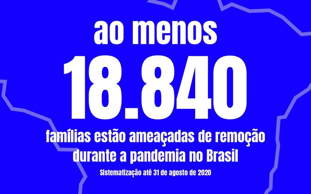 CAMPANHA DESPEJO ZERO: PRIMEIRA SISTEMATIZAÇÃO DE DADOS