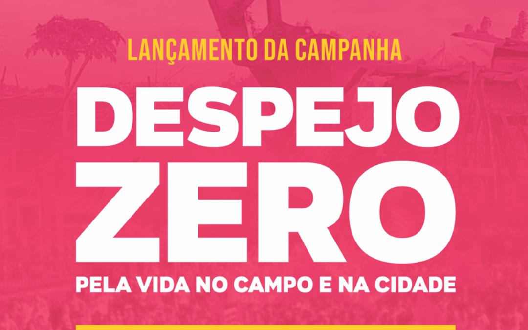 CAMPANHA DESPEJO ZERO: LANÇAMENTO NO RS